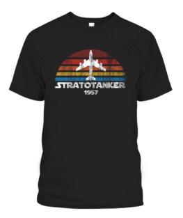 KC-135 Stratotanker Multi Color Vintage Sunset Air Refueling T-Shirts, Hoodie, Sweatshirt, Adult Size S-5XL