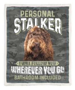 Personal Stalker 60x80 Inch Adult Blanket