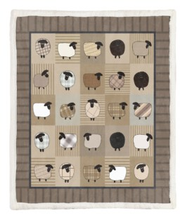 Sheep Customine 60x80 Inch Adult Blanket