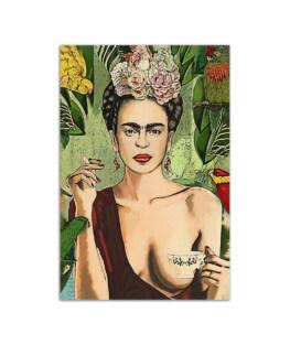 """Frida Con Amigos Wall Poster Vertical 7x11"""" 16x24"""" 24x36"""""""