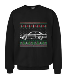 E30 Ugly Christmas Sweater Graphic Tee Shirt Adult Size S-5XL