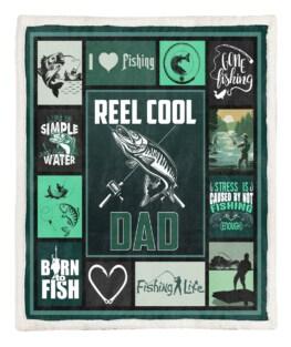 Reel Cool Dad 60x80 Inch Adult Blanket