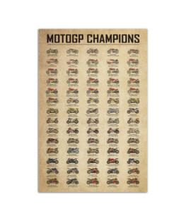 "Motogp champions Wall Poster Vertical 7x11"" 16x24"" 24x36"""