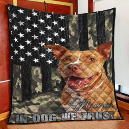 PullDog Full Size Quilt King Queen Twin Throw
