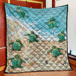Turtle Full Size Quilt King Queen Twin Throw