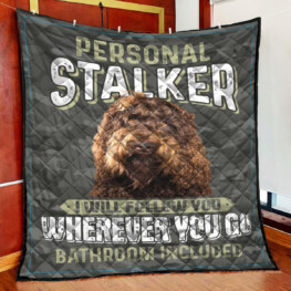 Personal Stalker Full Size Quilt King Queen Twin Throw