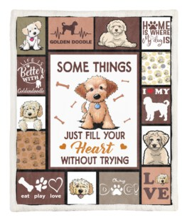 Some Things 60x80 Inch Adult Blanket