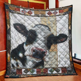 White And Black Full Size Quilt King Queen Twin Throw