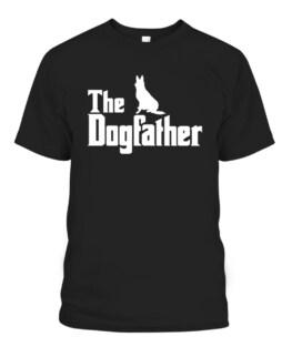 The Dogfather German Shepherd Gift T-Shirts, Hoodie, Sweatshirt, Adult Size S-5XL