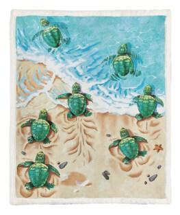 Turtle 60x80 Inch Adult Blanket