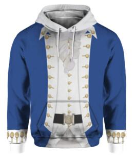 Alexander Hamilton Colonial Costume 3D All Over Print | For Men & Women | Adult | HO3310