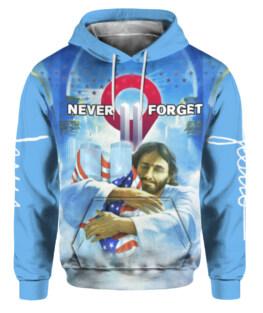 God Jesus Bless 911 Day 3D All Over Print | For Men & Women | Adult | HP1316