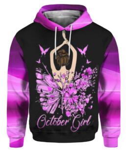 October Girl 3D All Over Print | For Men & Women | Adult | HT815110