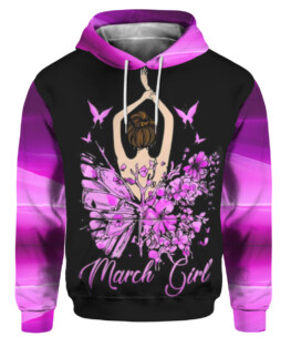 March Girl 3D All Over Print | For Men & Women | Adult | HT81513
