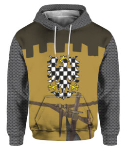 Knights Templar Medieval Armor 3D All Over Print | For Men & Women | Adult | HO3319