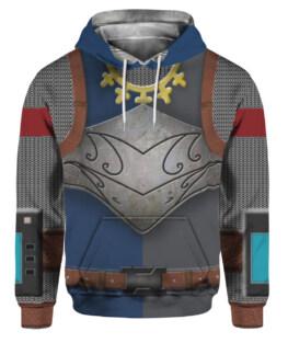 Knights Templar Medieval Armor 3D All Over Print | For Men & Women | Adult | HO3320