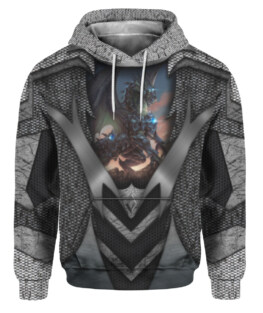 Tattoo And Dungeon Dragon Gray 3D All Over Print | For Men & Women | Adult | HO1968